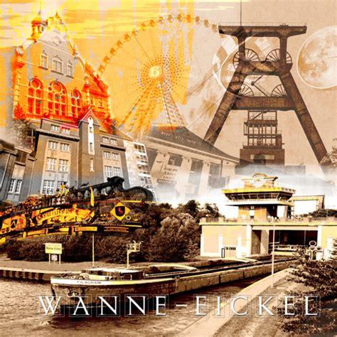 Italiener Wanne Eickel Wanne Eickel Collage Fritzart Shop