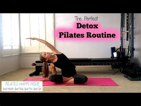 Detox Pilates Workout by Scoliosis Exercises Pilates Home Exercises To Improve