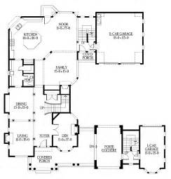 U Shaped Floor Plan U Shaped Home With Unique Floor Plan Hwbdo64049 New