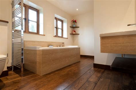 wood flooring in bathroom 21 awesome wooden themed bathrooms