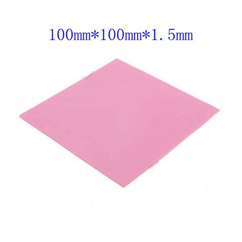 30x30x05mm Thermal Pad Cooling Silicone For Cpu Heatsink 220 100mmx100mmx1 5mm gpu cpu heatsink cooling thermal conductive silicone pad in tool parts