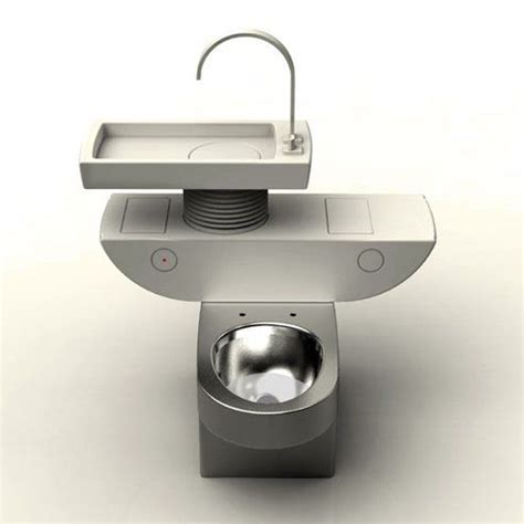 grey water toilet smart toilet sink combo uses greywater to flush