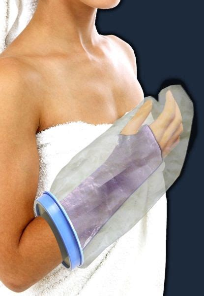 Showering With A Cast by Arm Cast Protector Cover Shower Swim Wrist Bandage Ebay
