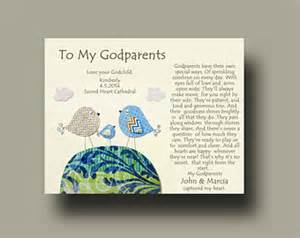 Godparent Certification Letter Godparents Gift Personalized Gift For Godmother And Godfather Gift From Godchild