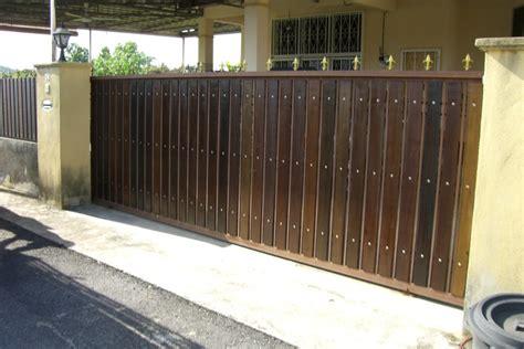 pin pintu pagar kayu 1 on
