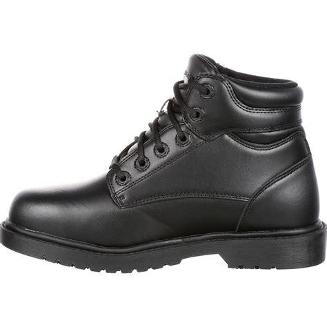 slip resistant work shoes for grabbers steel toe slip resistant work shoe g0019