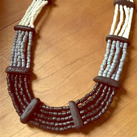 Handmade Fair Trade - handmade ethnic boho statement necklace fair trade from