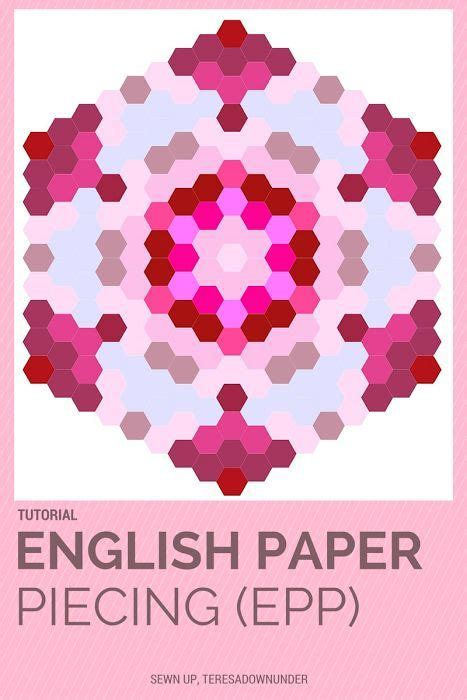 paper pattern of vdo 246 best english paper piecing images on pinterest