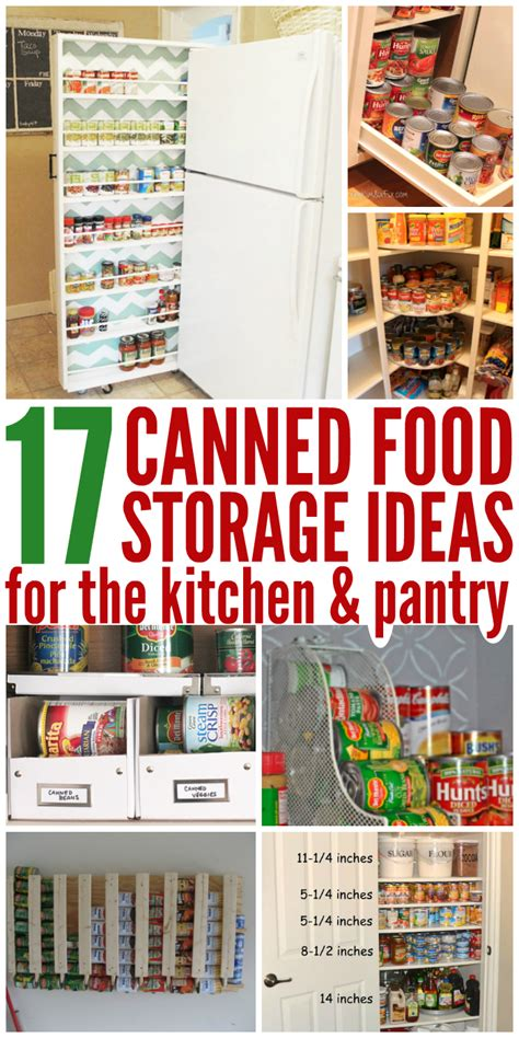 food storage ideas 17 canned food storage ideas to organize your pantry