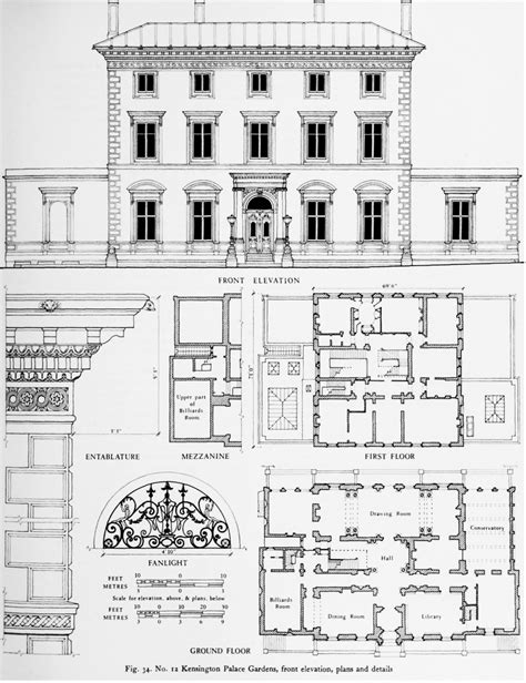 kensington palace floor plan the crown estate in kensington palace gardens individual
