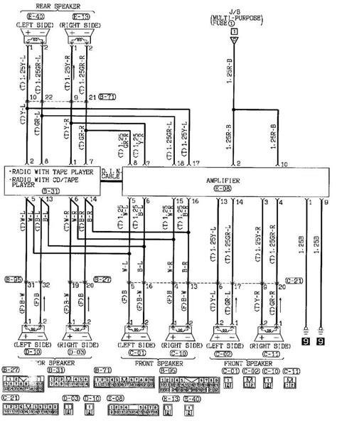 mitsubishi eclipse stereo wiring diagram 2001 mitsubishi galant engine diagram wiring schematic galant free printable wiring
