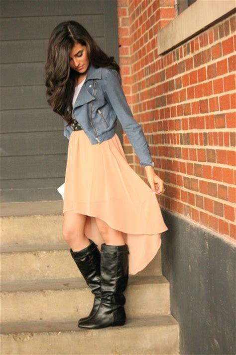 high low skirt forever21 skirts high boots steve madden