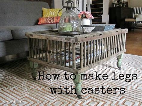 how to add casters to table legs catch as catch can 131 my repurposed 174