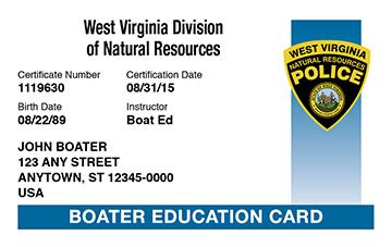 does virginia require boating license west virginia boater education cards certificates boat ed 174