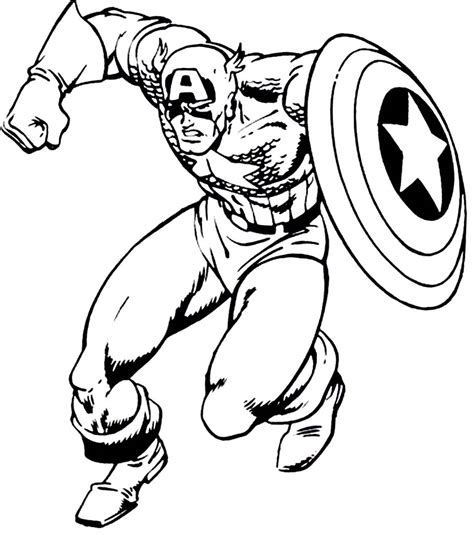 captain america shield coloring pages printable coloring pages