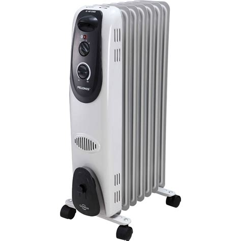 optimus portable oil filed radiator heater thermostat pelonis radiator heater thermostat oil filled 1500w