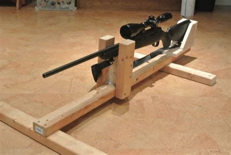 rifle bench rest plans diy shooting rest