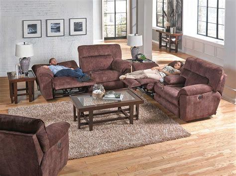 Nichols Power Recliner Catnapper Nichols Power Reclining Sofa Set Chestnut Cn 61671 Sofa Set Chestnut At Homelement