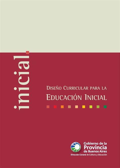 Diseño Curricular Dominicano Nivel Inicial Calam 233 O Dise 241 O Curricular De Nivel Inicial
