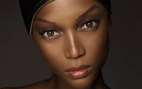 Close Up Of Black Female Models 2014 | tyra banks wallpaper
