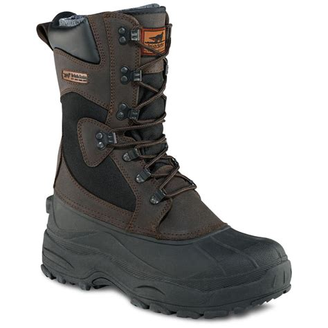 mens thinsulate boots s setter 174 12 quot snowhound 400 gram thinsulate