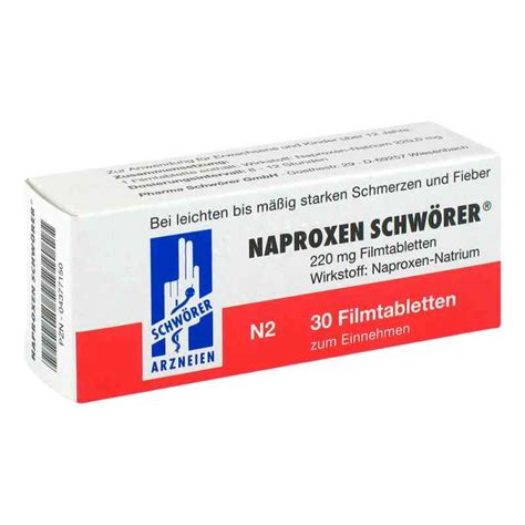 How To Detox From Naproxen by Naproxen Schw 246 Rer 30 Stk G 252 Nstig Bei Apo