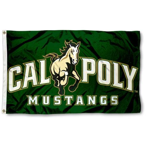 cal poly mustangs cal poly mustangs 3x5 flag your cal poly mustangs 3x5 flag