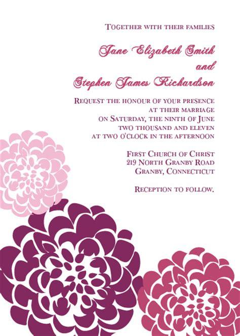 free invitations templates printable free invitations template wblqual