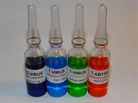 Resident Evil Umbrella Virus T Bottle Iphone 5 5s 5c 6 6s 7 Plus resident evil fan props virus ules g virus t virus