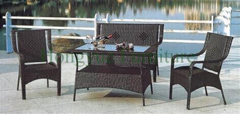 garden loveseats sale outdoor sofa hot sale pe rattan and iron frame garden