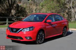 2016 nissan sentra review nissan s compact goes premium