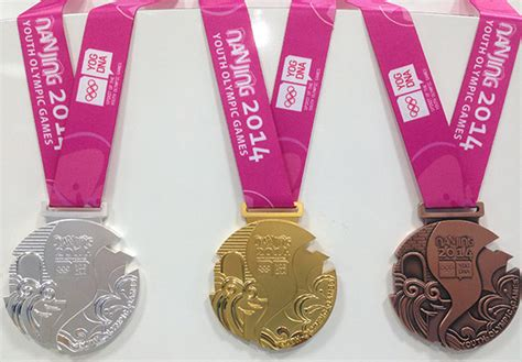 medal design competition youth olympic games nanjing 2014 youth olympic games medal unveiled olympic