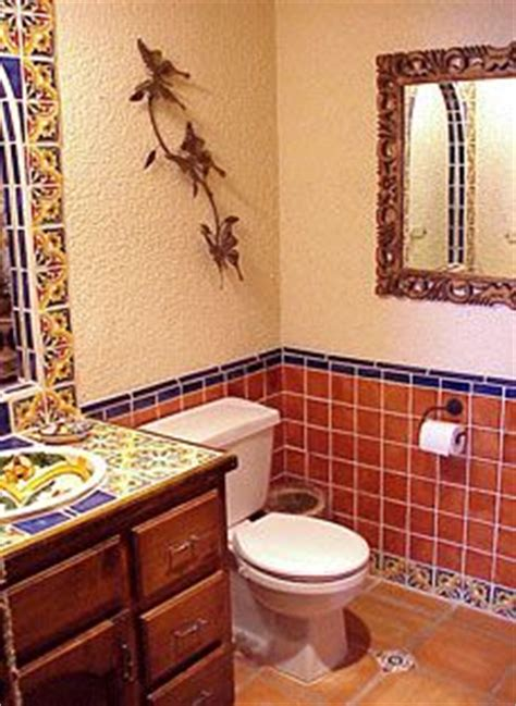 Mexican Tile Bathroom Ideas Mexican Tiles Mexicans And Tile Fireplace On Pinterest
