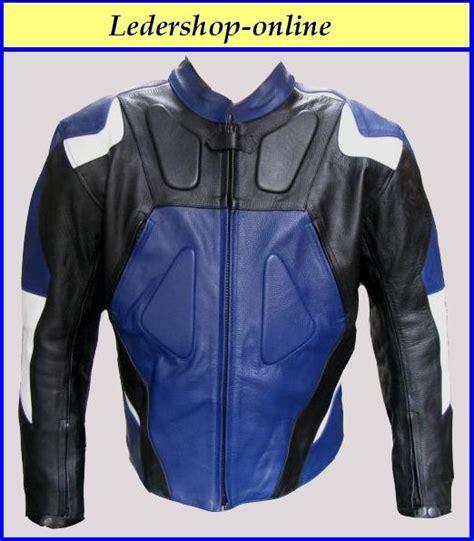 Motorrad Lederjacke Blau Wei by Aufkleber Sticker Motorrad Auto Roller Lkw Lethal Thread