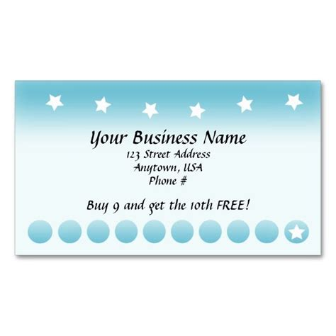 customer punch card template 1000 images about customer loyalty card templates on