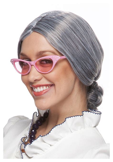 wig style for an 80 year old lady old lady grey wigs