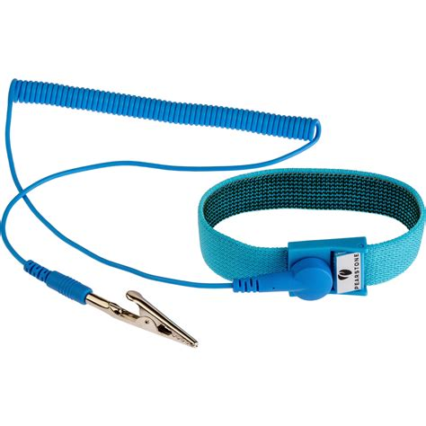 wrist straps pearstone anti static wrist 6 blue asws 10bl b h