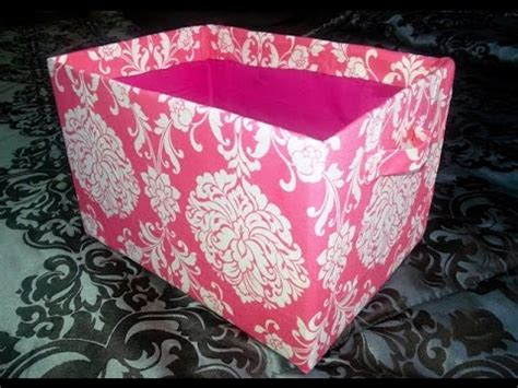 Decorative Cardboard Storage Boxes Home Organization Diy Cube Shelves Cardboard Fabric Storage Bins Storage