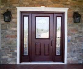 front door with sidelights modern entry doors with