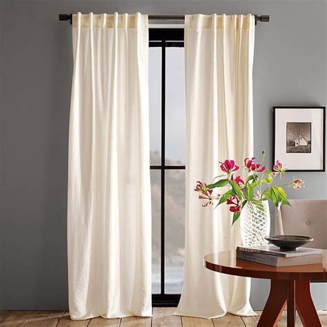 modern drapes luxe window panel modern curtains by west elm