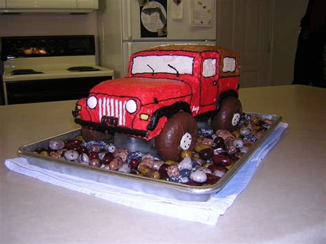 happy birthday jeep cake pin by marilyn gandy on cakes cupcakes pinterest