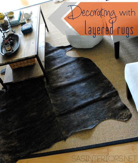Layering Rugs Sisal by Decorating With Layered Rugs Burger