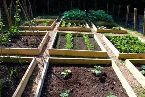 Gardening Beds The Time To Prepare Vegetable Gardens