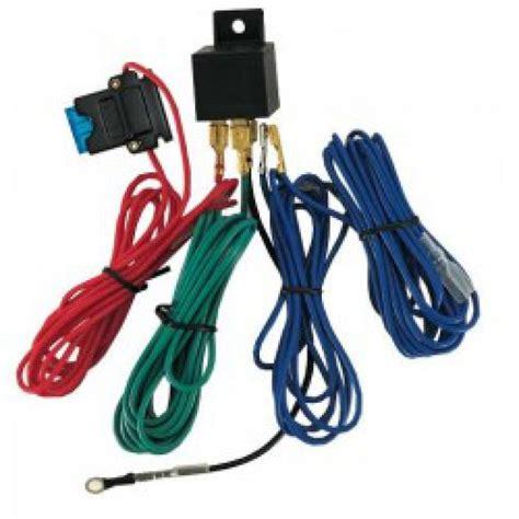 Lu Led Motor 250 kit de branchement avec relais et fusible pour phares