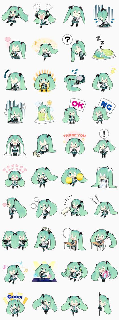 download tema line android hatsune miku hatsune miku line sticker rumors city
