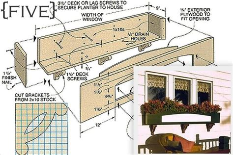 Window Planter Plans by Ten Diy Window Box Planter Ideas With Free Building Plans
