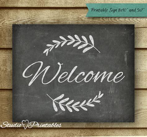 diy chalkboard typography printable chalkboard welcome sign chalkboard print