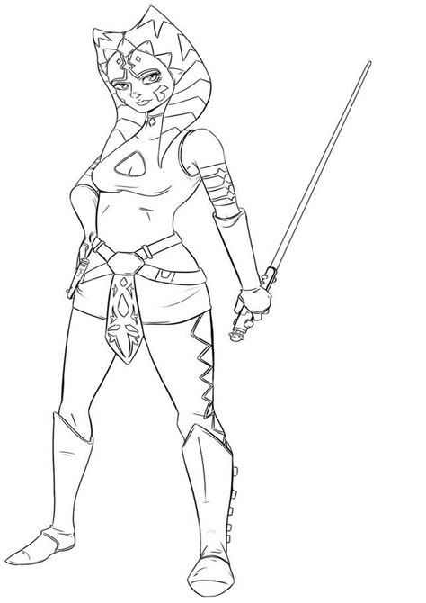 free coloring pages star wars rebels star wars rebels ahsoka coloring pages online pictures to
