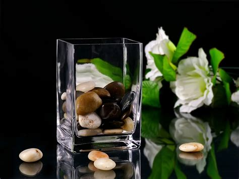 rectangular glass vases for centerpieces glass table vases for centerpieces weddings