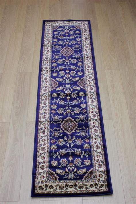 Navy Blue Runner Rug Sincerity Sherbourne Navy Blue Traditional Rug Buy Rugs In The Uk